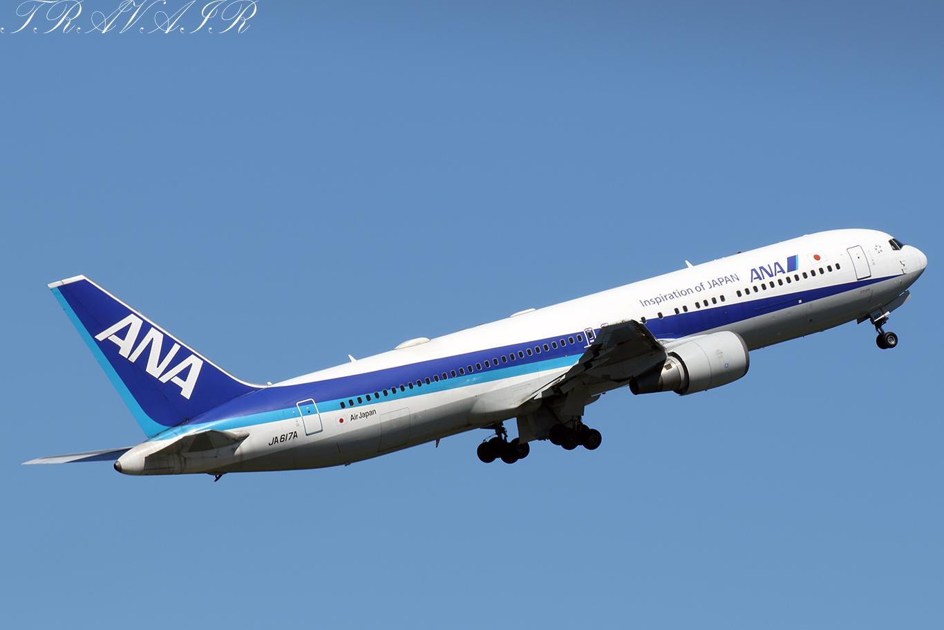 NH/ANA/全日空 NH67 B767-300ER JA617A