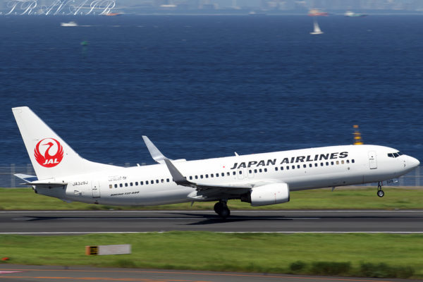 JL/JAL/日本航空 JL283 B737-800 JA329J