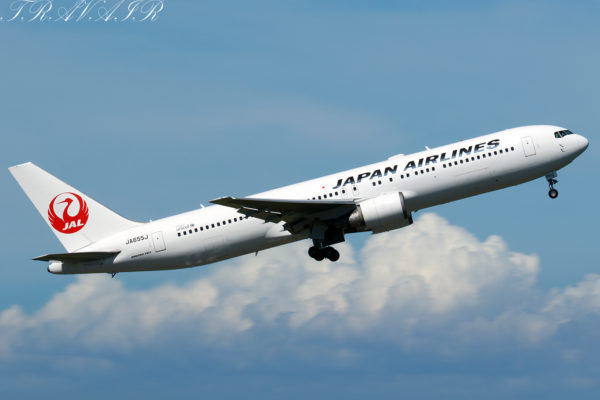 JL/JAL/日本航空 JL555 B767-300ER JA655J