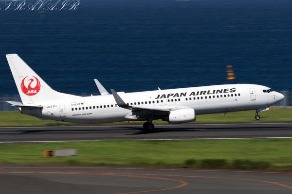 JL/JAL/日本航空 JL263 B737-800 JA318J