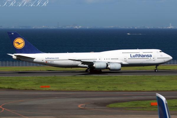 LH/DLH/ルフトハンザ・ドイツ航空 LH717 B747-8i D-ABYD