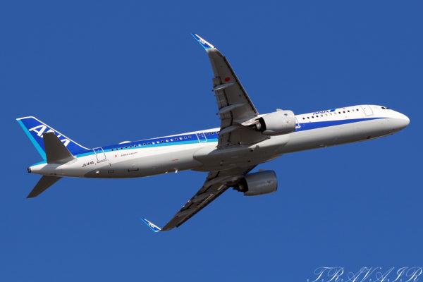 NH/ANA/全日空 NH641 A321Neo JA144A