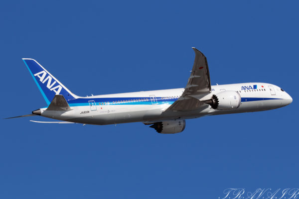 NH/ANA/全日空 NH477 B787-9 JA833A