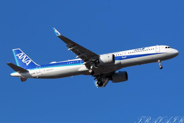 NH/ANA/全日空 NH680 A321Neo JA148A