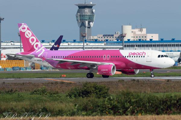 MM/APJ/ピーチアビエーション MM525 A320 JA822P