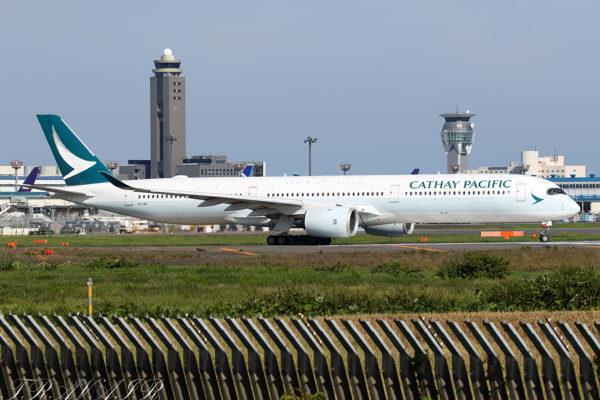 CX/CPA/キャセイパシフィック航空 CX505 A350-1000 B-LXG
