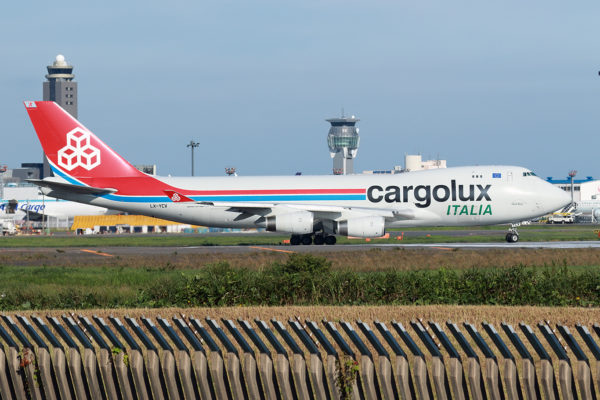 C8/ICV/カーゴルクス・イタリア C85713 B747-400F LX-YCV