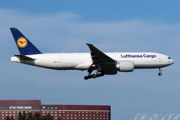 LH/DLH/ルフトハンザ・ドイツ航空 LH8386 B777-200F D-ALFB