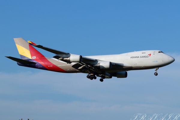 OZ/AAR/アシアナ航空 OZ198 B747-400F HL7436