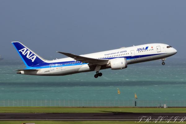 NH/ANA/全日空 NH31 B787-8 JA808A