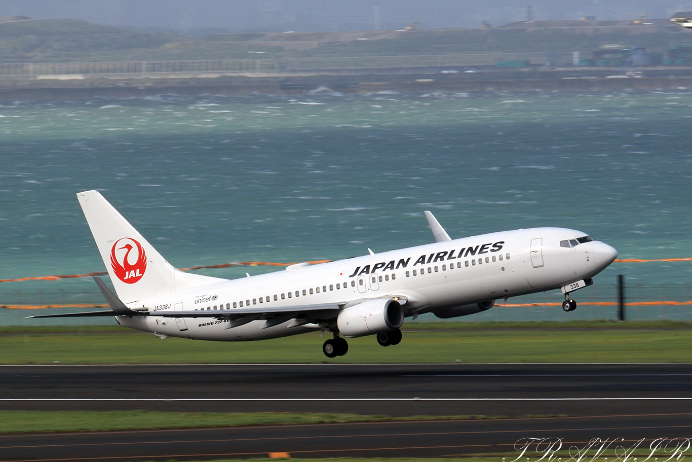 JL/JAL/日本航空 JL483 B737-800 JA338J