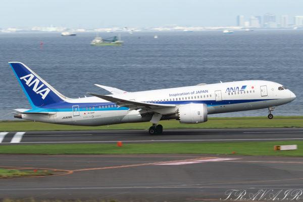 NH/ANA/全日空 NH67 B787-8 JA808A