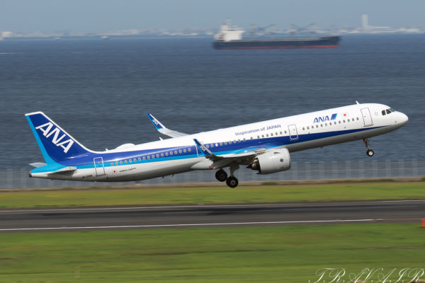 NH/ANA/全日空 NH380 A321Neo JA138A