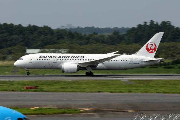 JL/JAL/日本航空 JL B787-8 JA833J