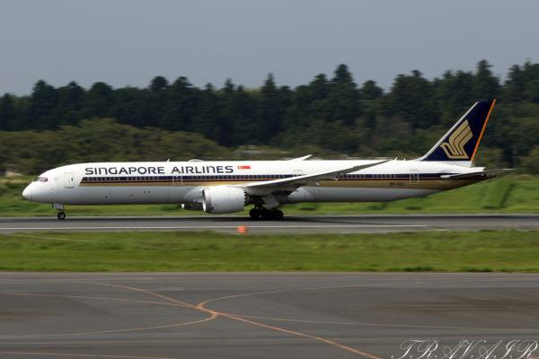 SQ/SIA/シンガポール航空 SQ637 B787-10 9V-SCL