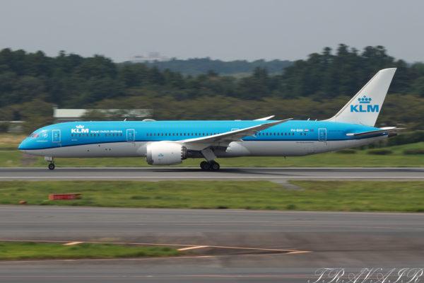 KL/KLM/KLMオランダ航空 KL862 B787-9 PH-BHH