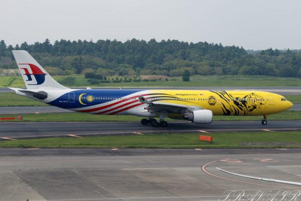 MH/MAS/マレーシア航空 MH71 A330-300 9M-MTG
