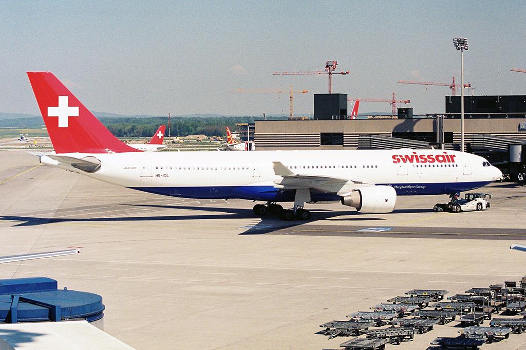 SR/SWR/スイス航空 A330-200 HB-IQL