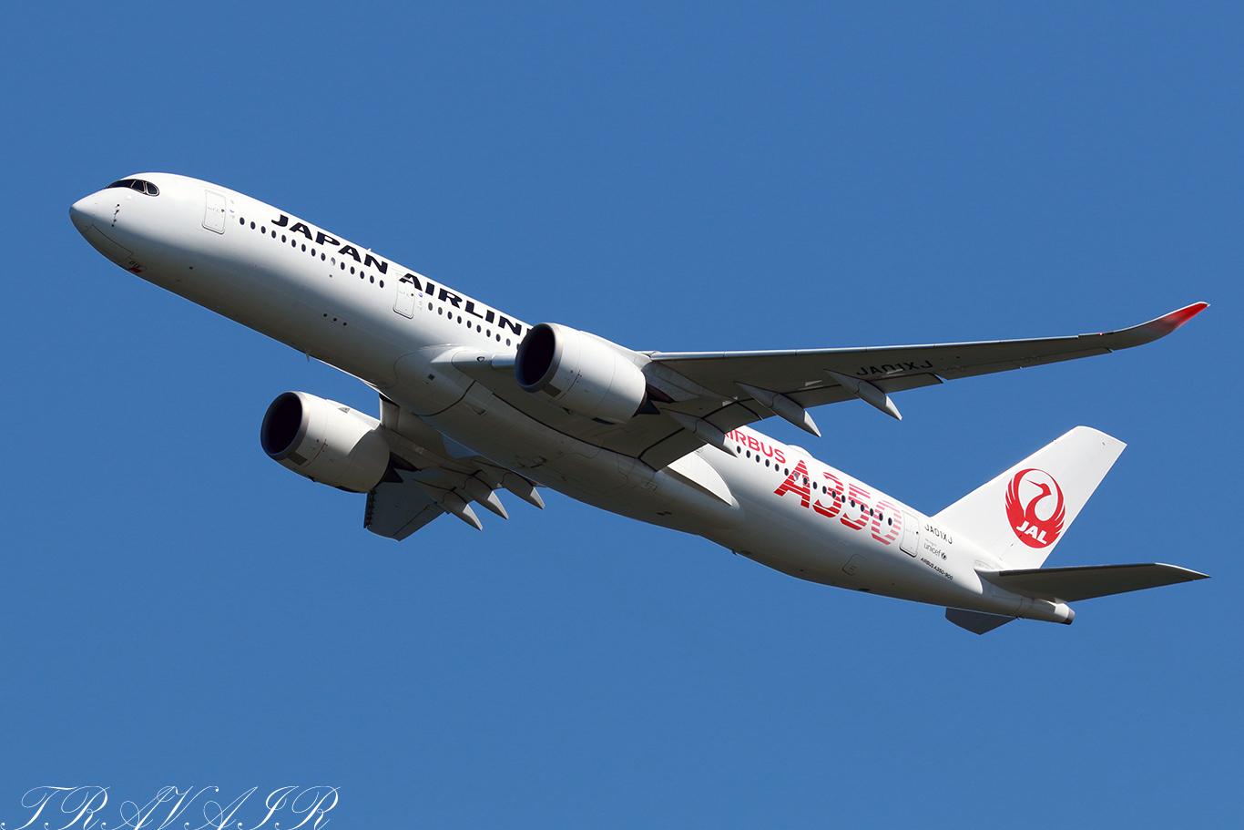 JL/JAL/日本航空 JL515 A350-900 JA01XJ