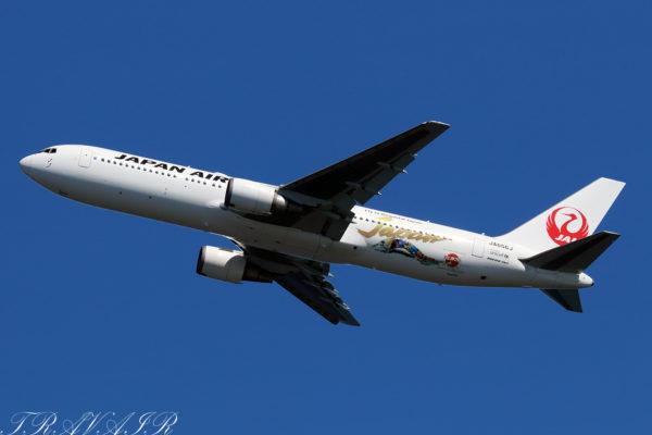 JL/JAL/日本航空 JL567 B767-300ER JA656J