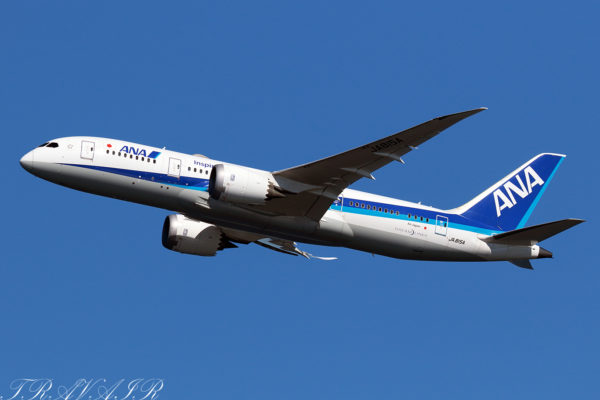 NH/ANA/全日空 NH67 B787-8 JA815A