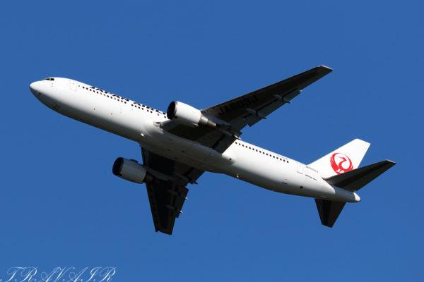 JL/JAL/日本航空 JL551 B767-300ER JA603J