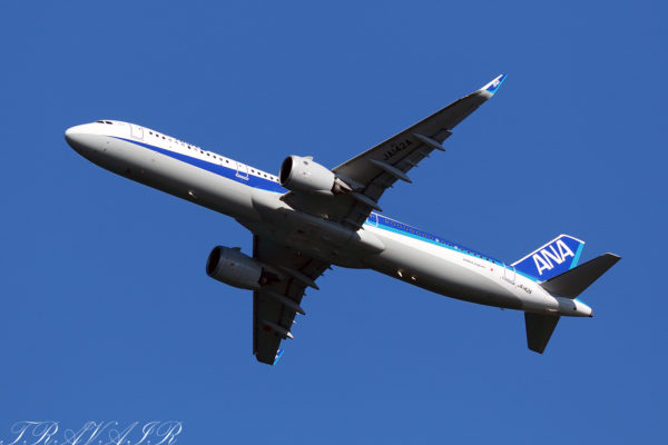 NH/ANA/全日空 NH385 A321Neo JA142A