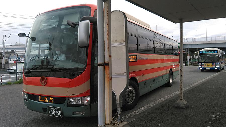 海ほたるもバスで行けます