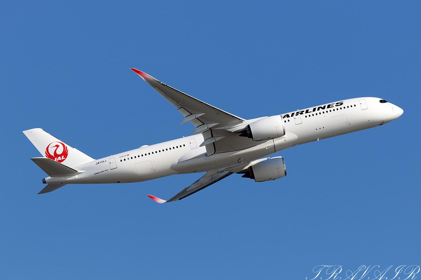 JL/JAL/日本航空 JL919 A350-900 JA11XJ