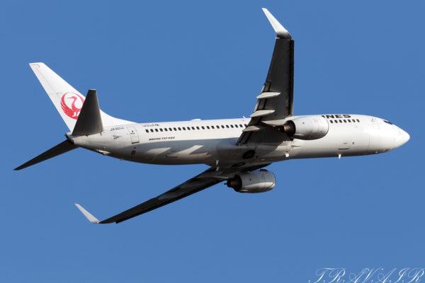 JL/JAL/日本航空 JL483 B737-800 JA301J