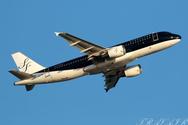 7G/SFJ/スターフライヤー 7G27 A320 JA07MC