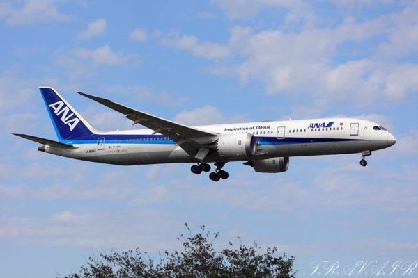 NH/ANA/全日空 NH802 B797-9 JA896A
