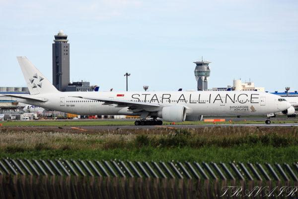 SQ/SIA/シンガポール航空 SQ17 B777-300ER 9V-SWI