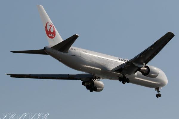 JL/JAL/日本航空 JL314 B767-300ER JA612J