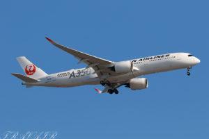 JL/JAL/日本航空 JL906 A350-900 JA02XJ