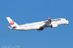 JL/JAL/日本航空 JL521 A350-900 JA08XJ