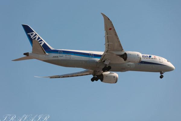 NH/ANA/全日空 NH261 B787-8 JA803A