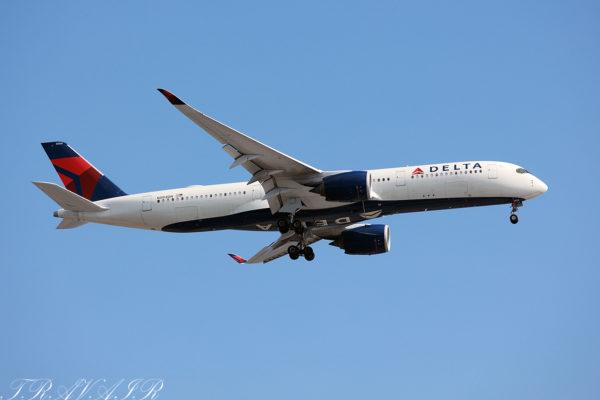 DL/DAL/デルタ航空 DL295 A350-900 N504DN